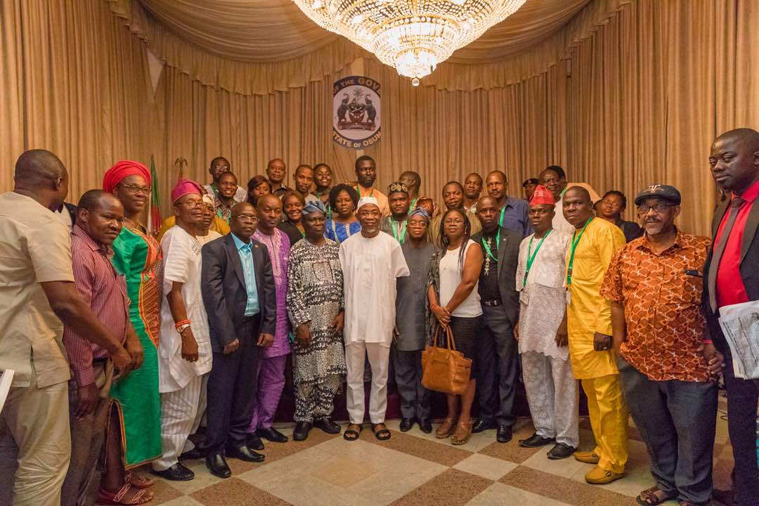 PHOTONEWS: Osun Hosts Forestry Sector Delegates To State Dinner