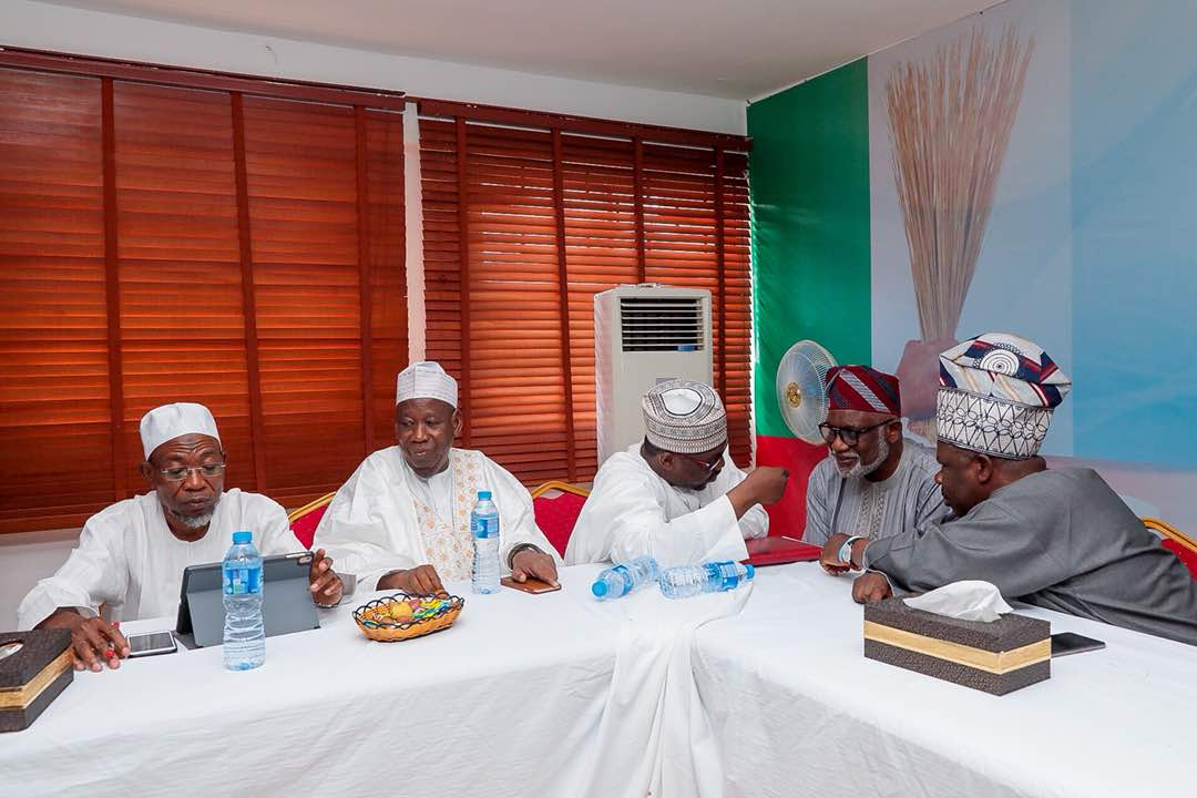 PHOTONEWS: Aregbesola Attends APC NWC/Governors Forum Meeting