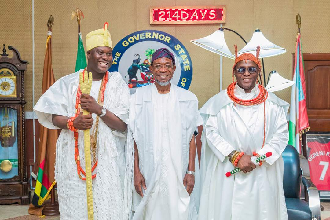 Oba Of Benin Urges Aregbesola, Other Governors, To End Unwarranted Killings