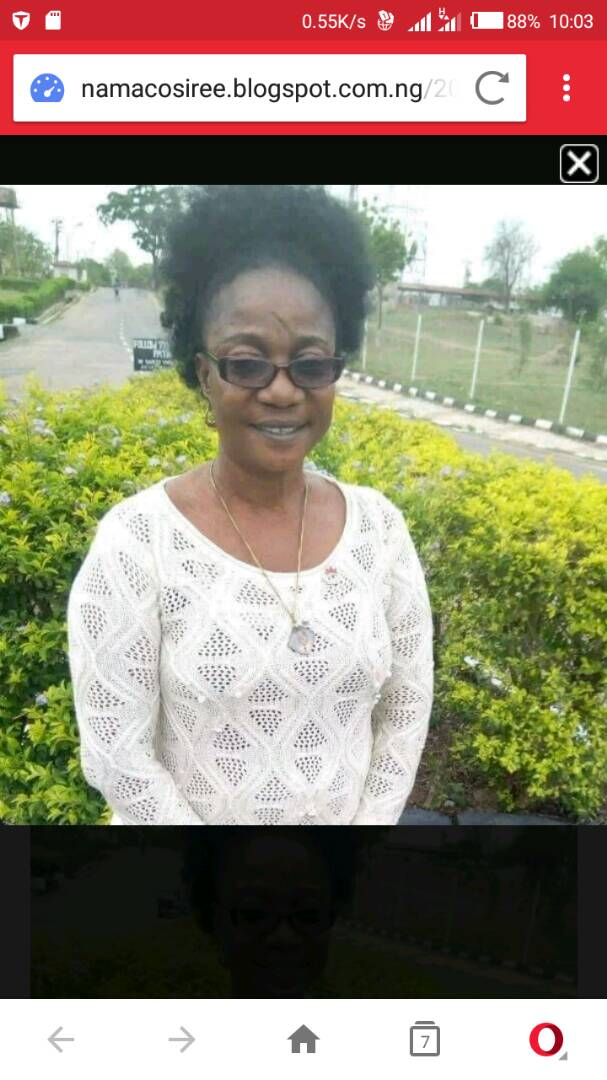 Osunpoly Loses Female Lecturer