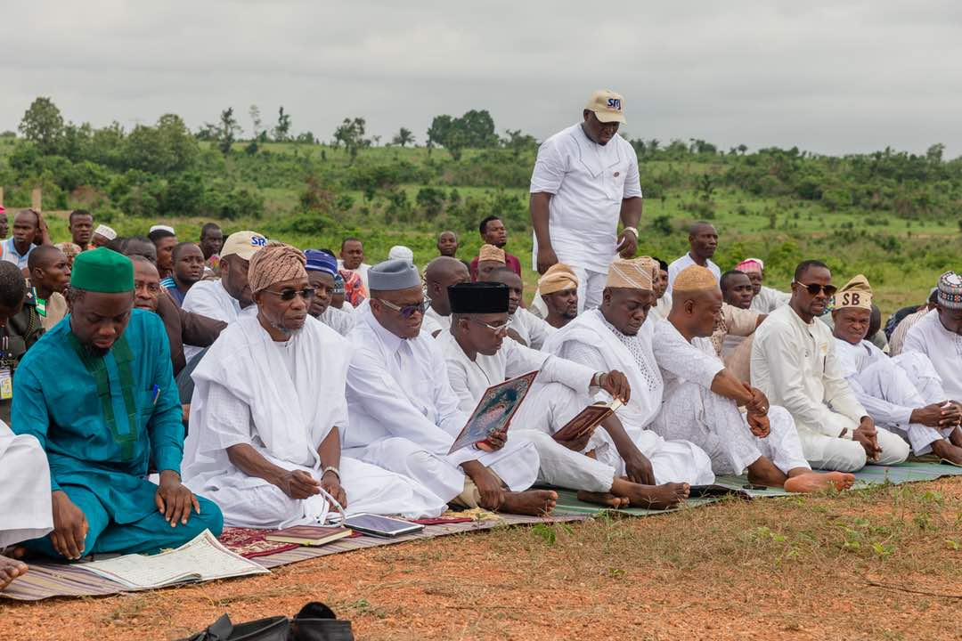 PHOTONEWS: Aregbesola Attends Opening Of Osogbo New Eid Praying Ground