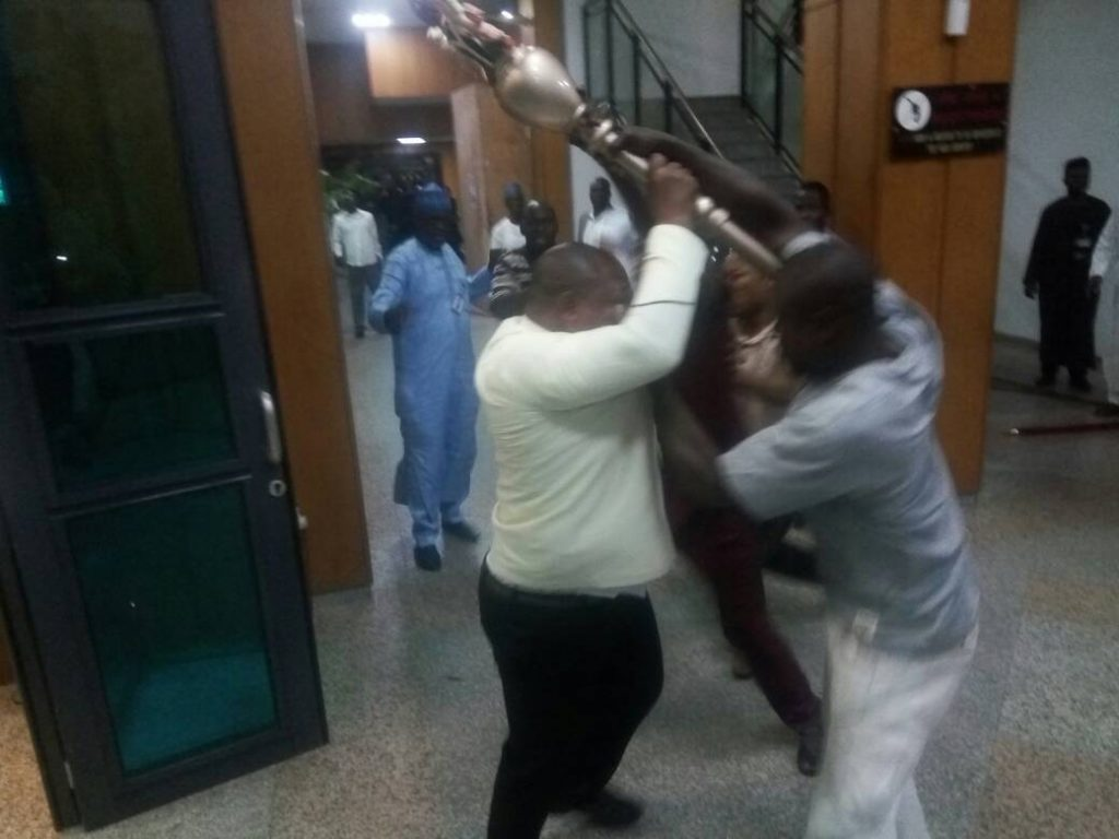 Ghanian Lawmakers Witness Mace Theft Drama At Senate Plenary