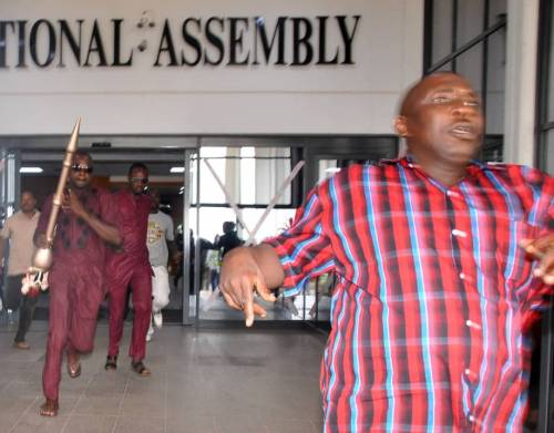 Police Return Stolen Mace To Senate