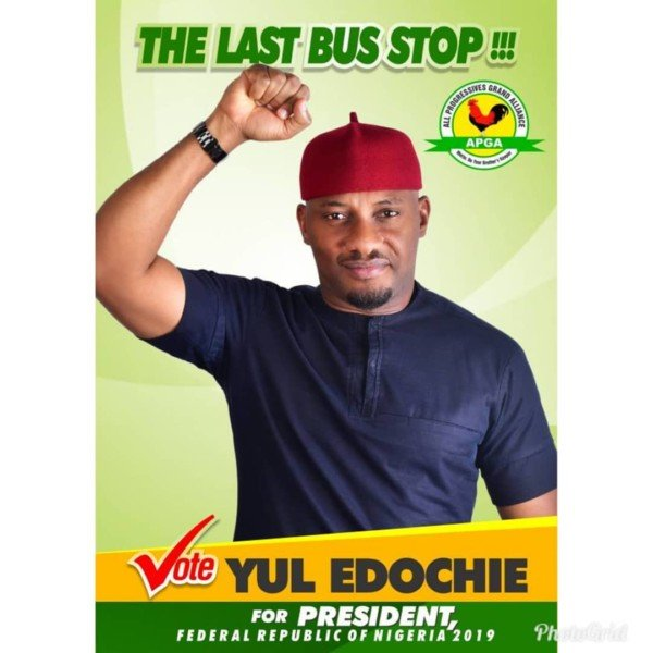 2019 Presidential Election: Nigerian Actor Yul Edochie To Contest