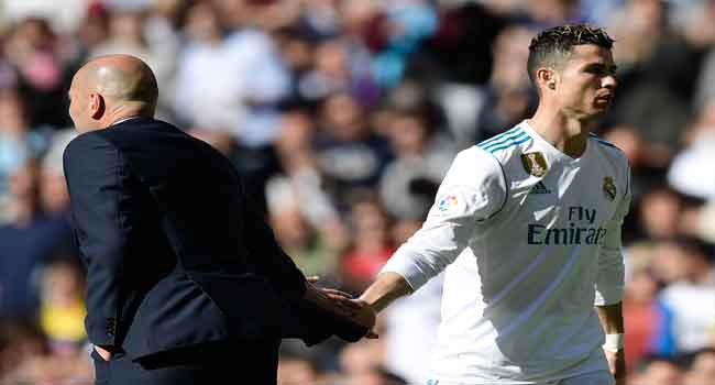I Don't Think Of Playing Without Ronaldo – Zidane