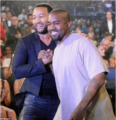 Kanye West Exposes John Legend For Trying To Manipulate Him