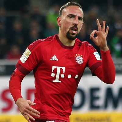 Ribery Extends Bayern Contract