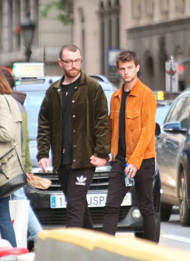 PHOTOS: Sam Smith And Lover Spotted In Spain