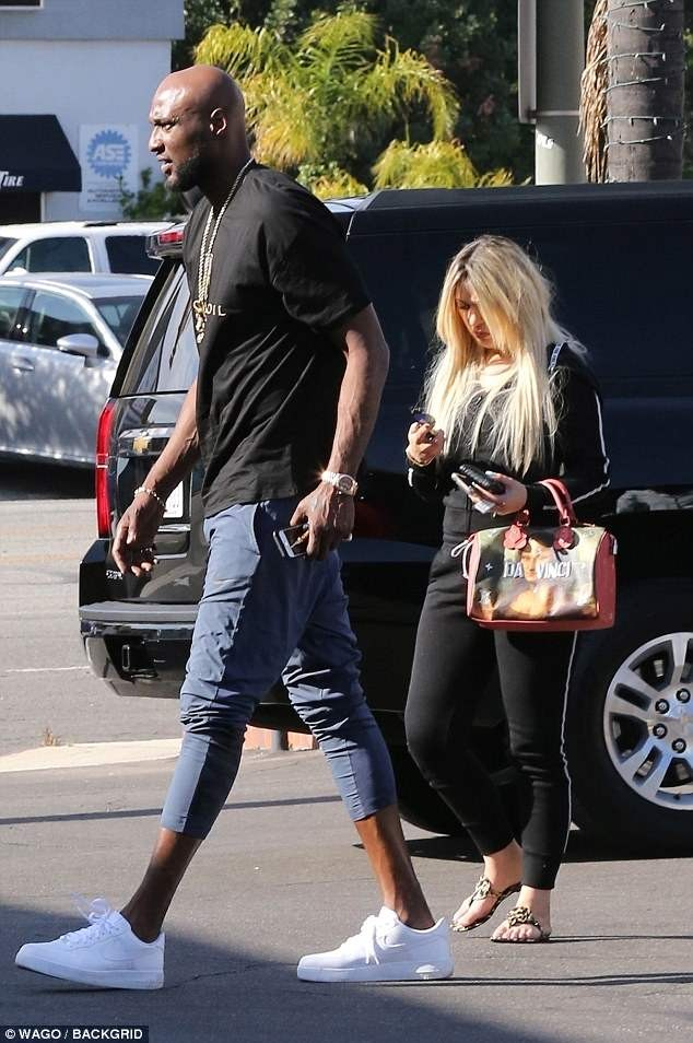 Lamar Odom Spotted With Lady Who Looks Like Ex-Wife Khloe