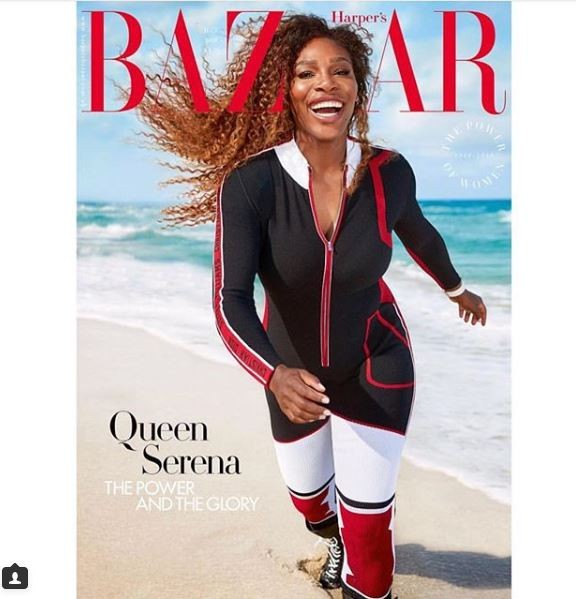 Serena Williams Slays In July's Issue Of Harper's Bazaar UK