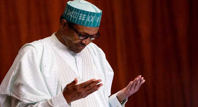 Image result for I inherited insecurity, ailing economy, Buhari insists