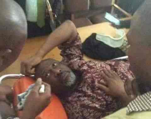 Police move Dino Melaye to Kogi in ambulance, to be arraigned today
