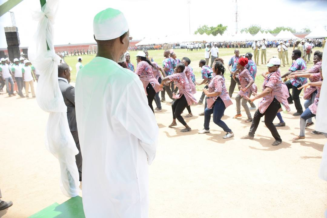 PHOTONEWS: Aregbesola Attends 2018 Osun May Day Rally