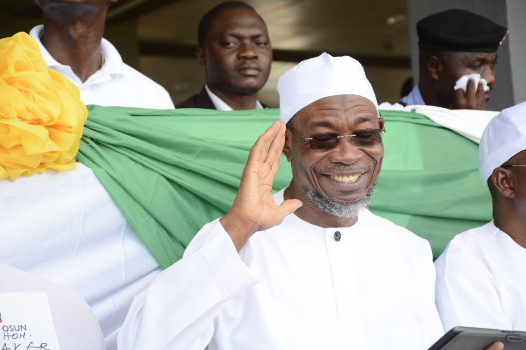 Timi of Ede, Residents Eulogize Aregbesola