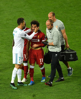 UCL: Sallah Suffers Early Injury As Real Make History