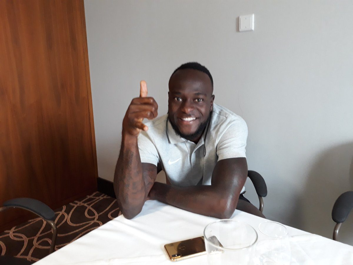 Moses Joins Super Eagles Camp Ahead Of England Friendly