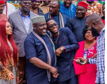 More Pictures Of Governor Rochas Okorocha And BBN Housemates In Imo