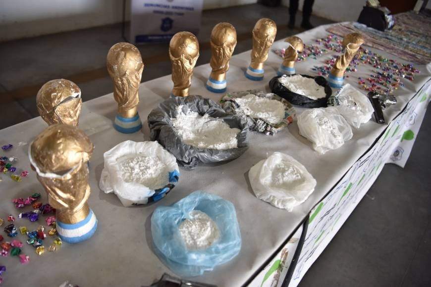 Fake World Cup Trophies Used To Smuggle Drugs Discovered