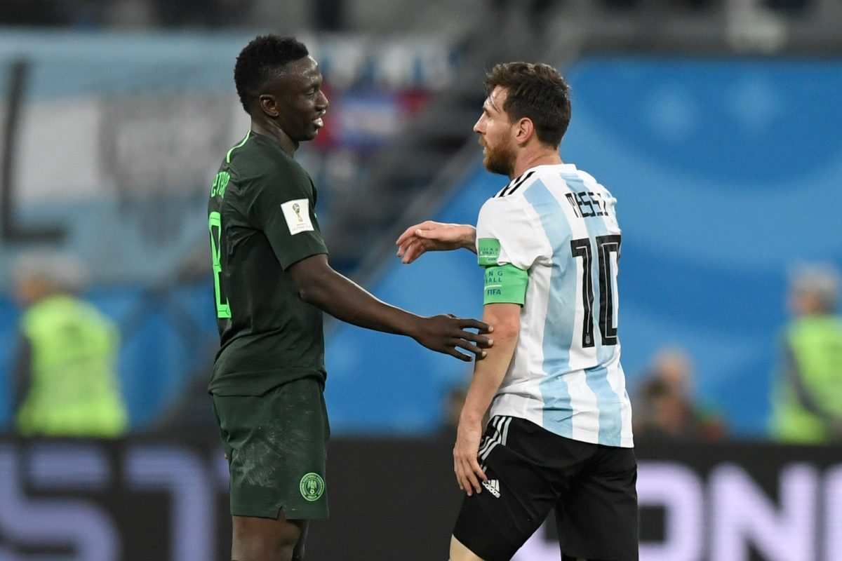 Etebo Beats Messi To Highest Rate Of Successful Take-Ons At 2018 World Cup