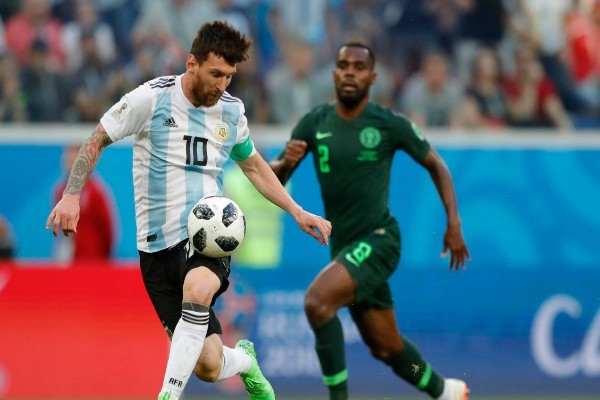Messi: Super Eagles Made Us Suffer