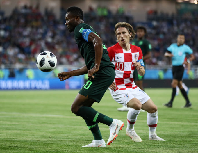 Argentina Showdown: Mikel To Play With Protection