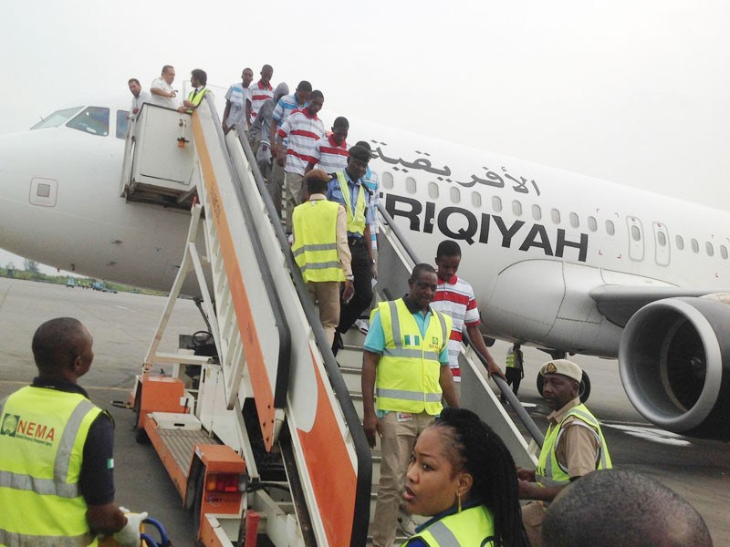Another Batch Of 171 Nigerians Arrive From Libya
