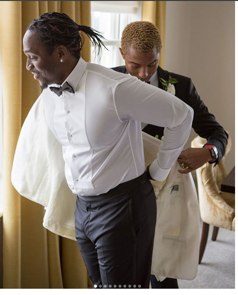 Pusha T  Weds Long Time Girlfriend Virginia Williams