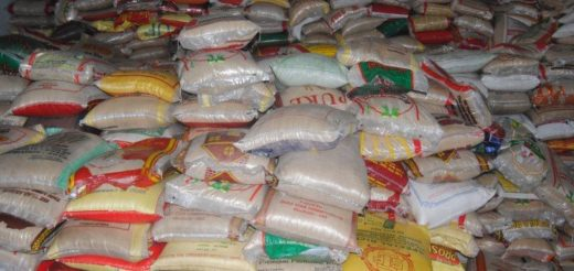 828 Bags Of Contraband Rice Seized