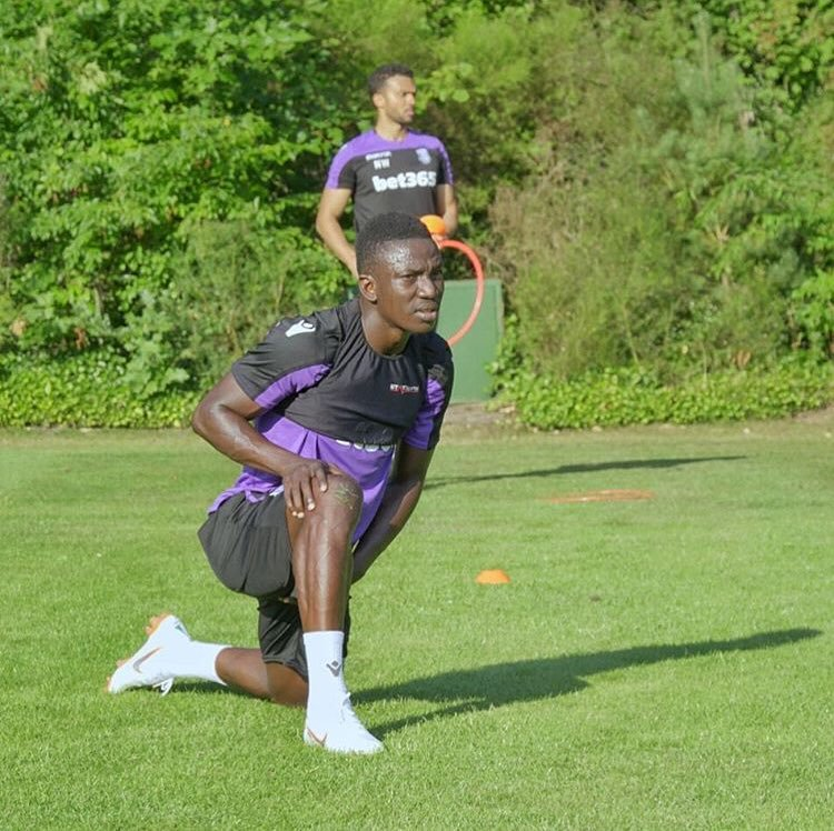 Etebo Raring To Go At Stoke City After First Training At Pre-Season Camp