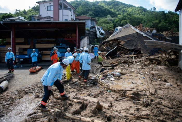Death Toll Hits 200 After Heavy Downpour In Japan