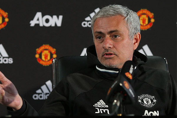 Mourinho: Man United Not Team Yet, Will Get Better With More Training Sessions