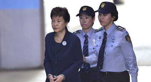 South Korea's Jailed 1st Female President Gets Another Eight Years