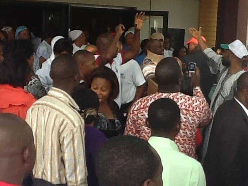 Ekiti Workers Chase Out Colleagues From Offices Over Unpaid Salary